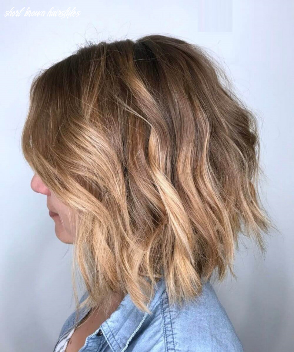 9 brown short hairstyles ideas for women short brown hairstyles