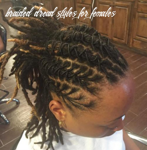 9 Creative Dreadlock Styles for Girls and Women
