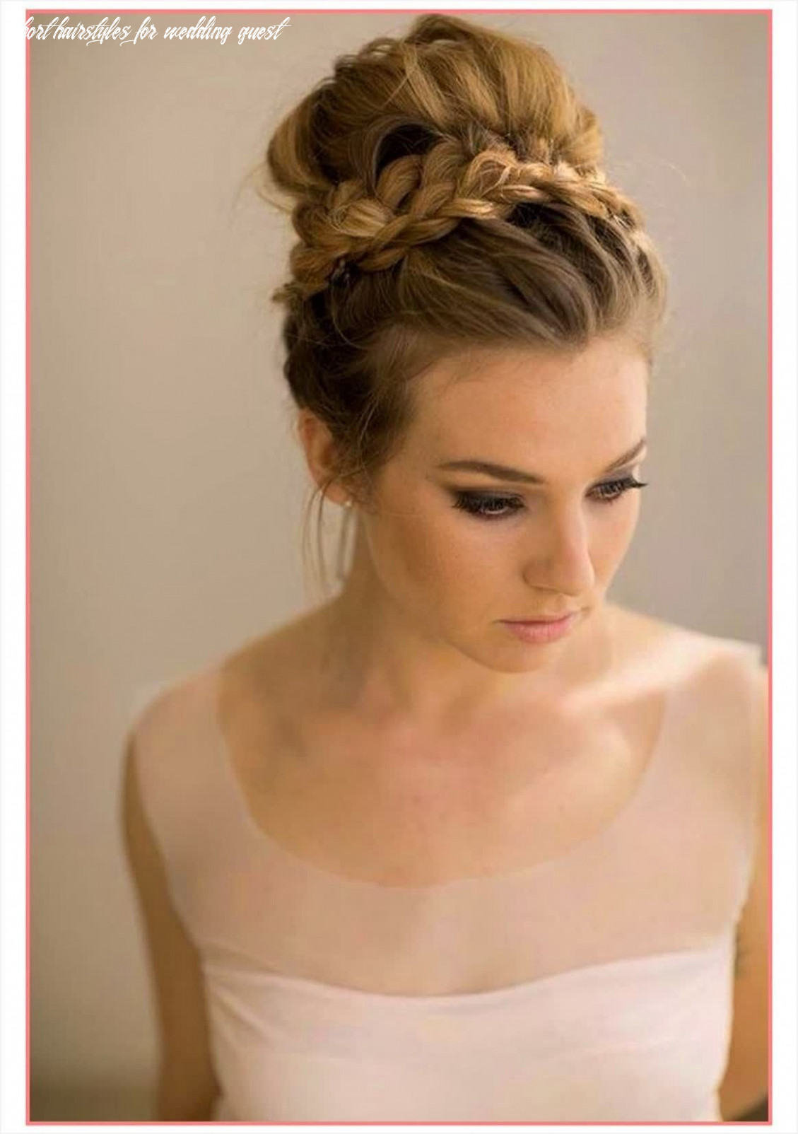 9 cute hairstyles for wedding guests 9 best wedding guest