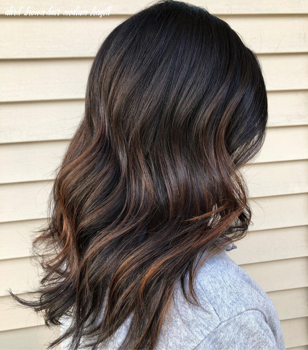 9 Dark Brown Hair with Highlights Ideas for 9 - Hair Adviser