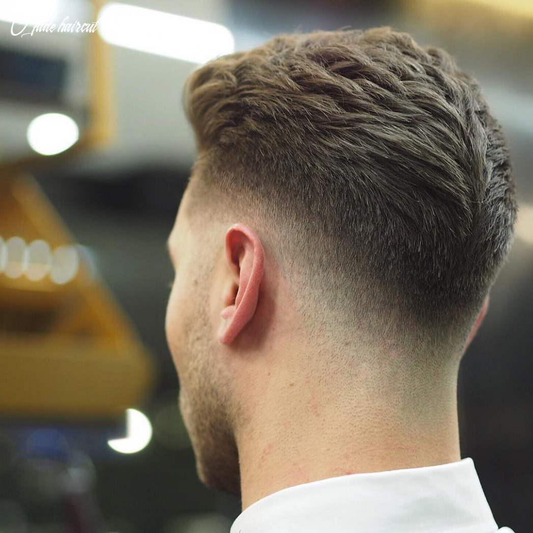 9 drop fade style created using @triumphanddisaster #barber #fade