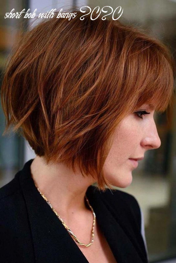 9 easy classy short bob hairstyles with bangs 9 in 9