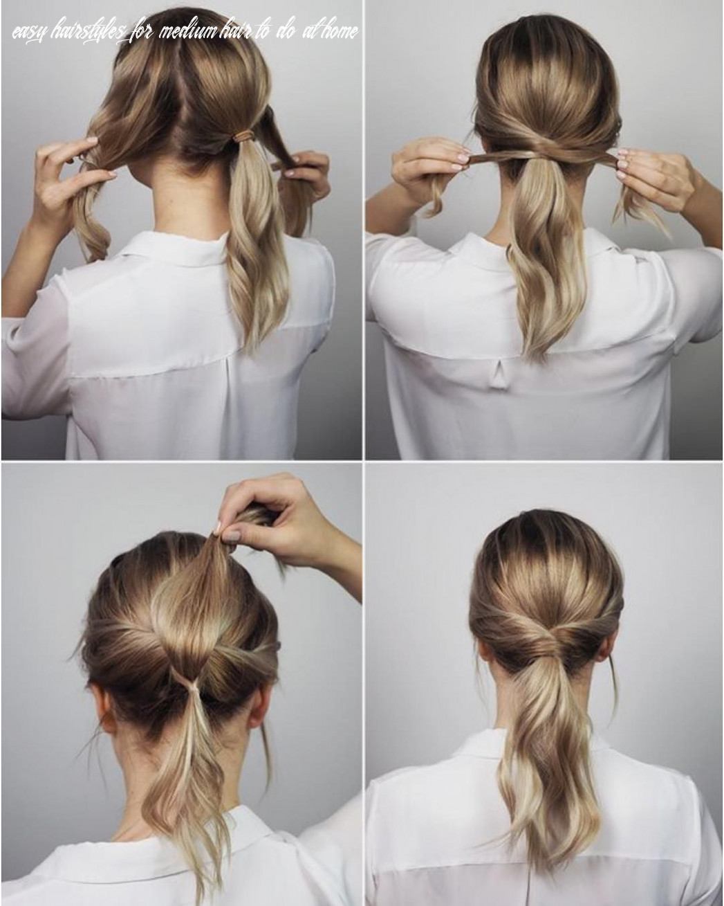 9 easy hairstyles for long hair to do at home step by step