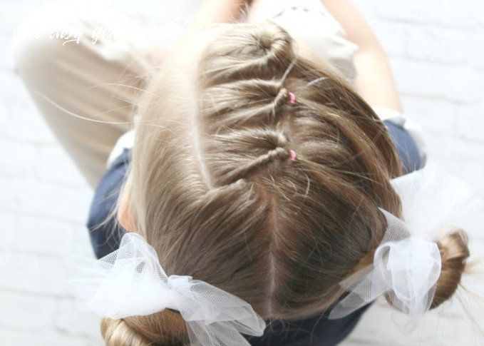 9 easy little girls hairstyles (ideas you can do in 9 minutes or