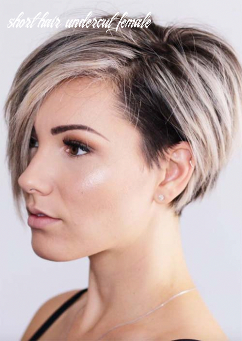 9 edgy and rad short undercut hairstyles for women | short hair