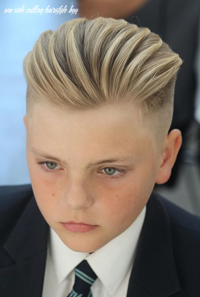 9+ Excellent School Haircuts for Boys + Styling Tips