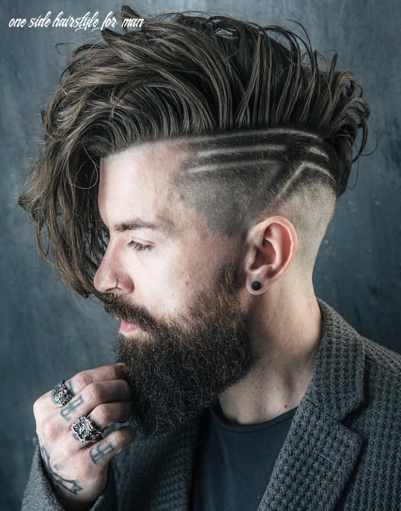 9 fascinating medium hair one side hairstyle for boys one side hairstyle for man