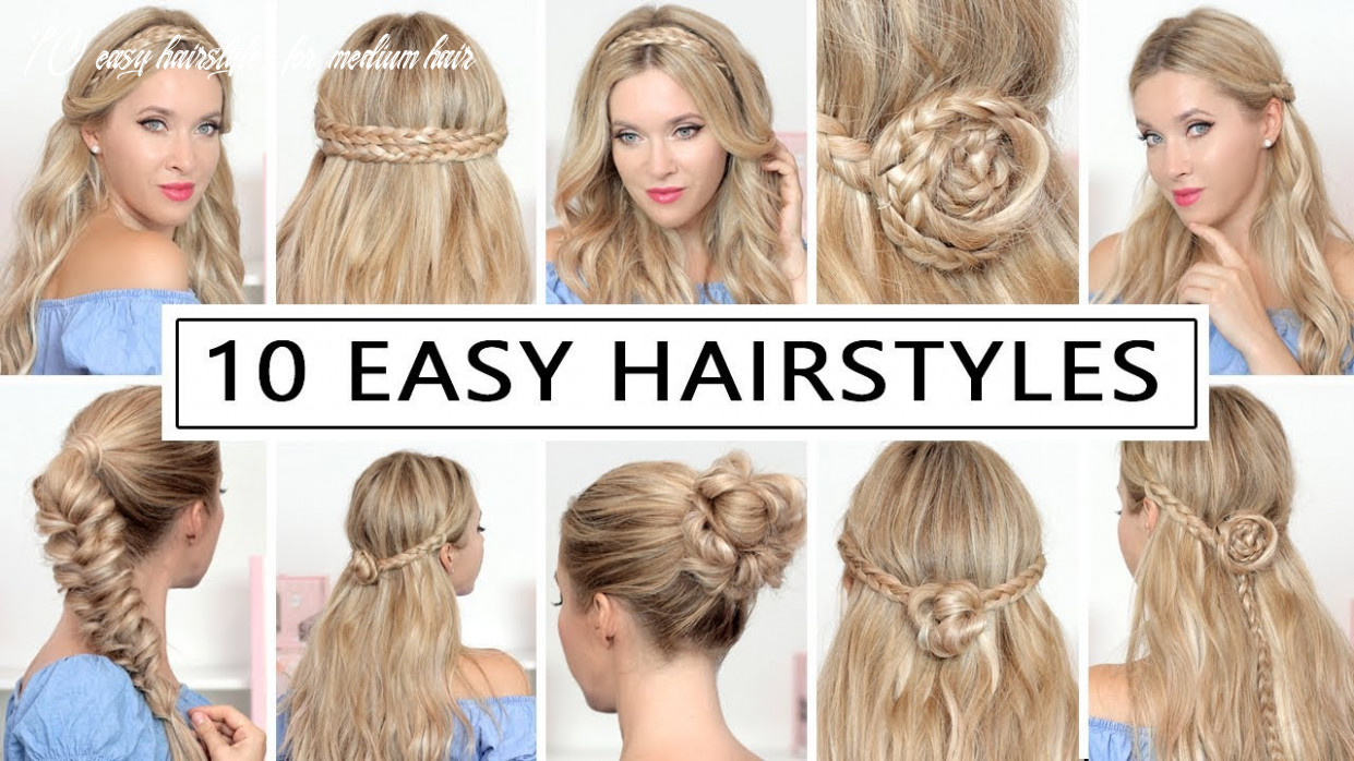 9 HAIRSTYLES for BACK TO SCHOOL, everyday, party ❤ Quick and easy hair  tutorial
