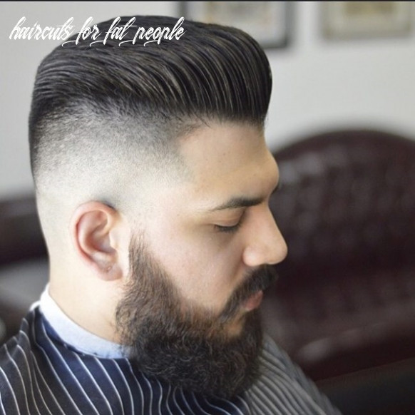 9 Hairstyles for Fat Guys (Practically Useful) - Machovibes