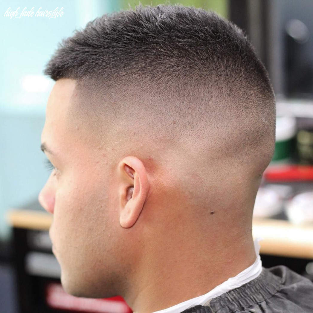 9 High Fade Haircuts For 9 | Haarschnitt, Herrenhaarschnitt ...