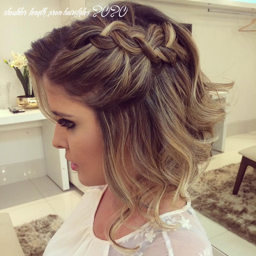 9 hottest prom hairstyles for short & medium hair 99
