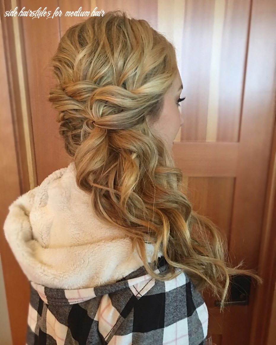 9 hottest side swept hairstyles to try in 9 side hairstyles for medium hair