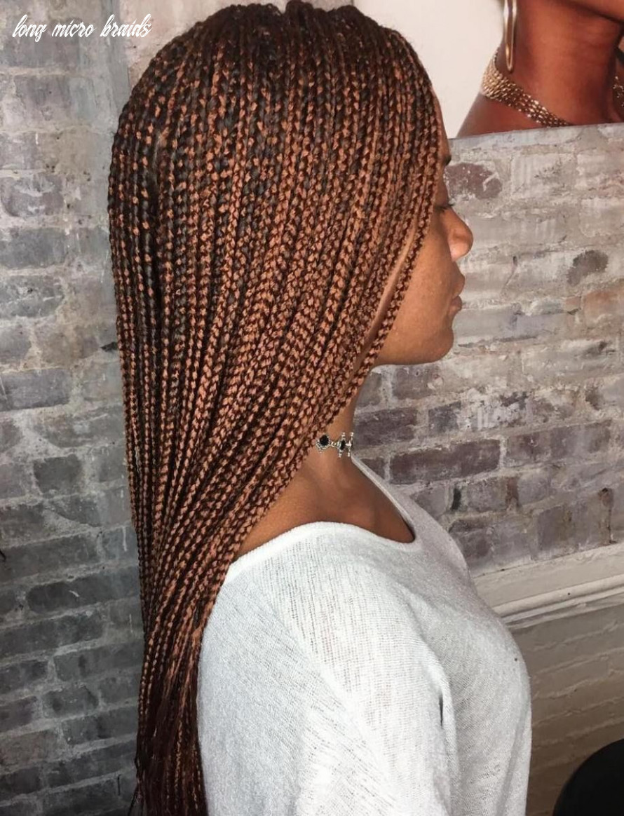 9 ideas of micro braids and invisible braids hairstyles | small
