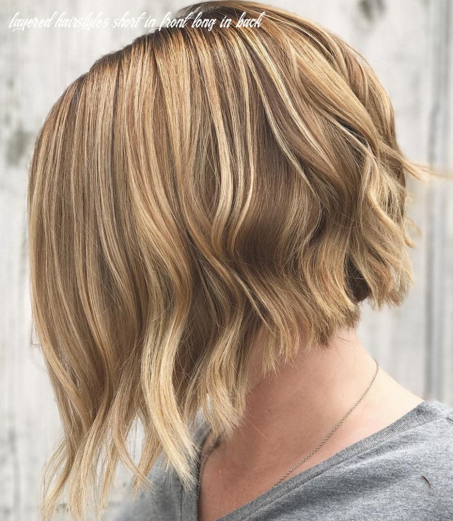 9 incredible bob cut longer in front 9 layered hairstyles short in front long in back