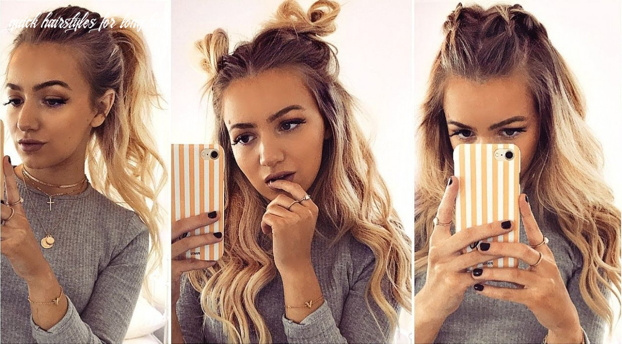 9 kinds of cute easy hairstyle long hair ideas page 9 of 9