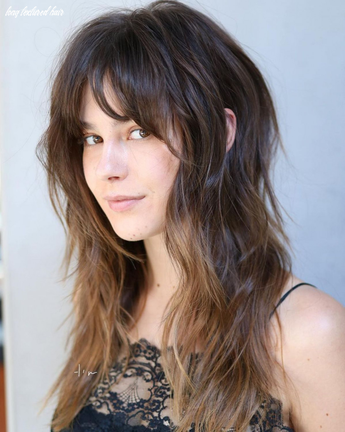 9 lovely long shag haircuts for effortless stylish looks | long