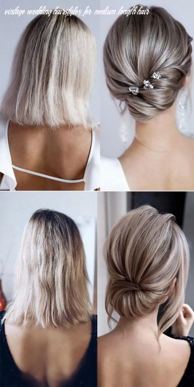9 medium length wedding hairstyles for 9 brides 9 | mother of