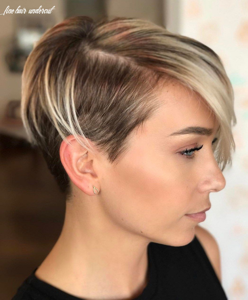 9 mind blowing short hairstyles for fine hair | thick hair styles fine hair undercut