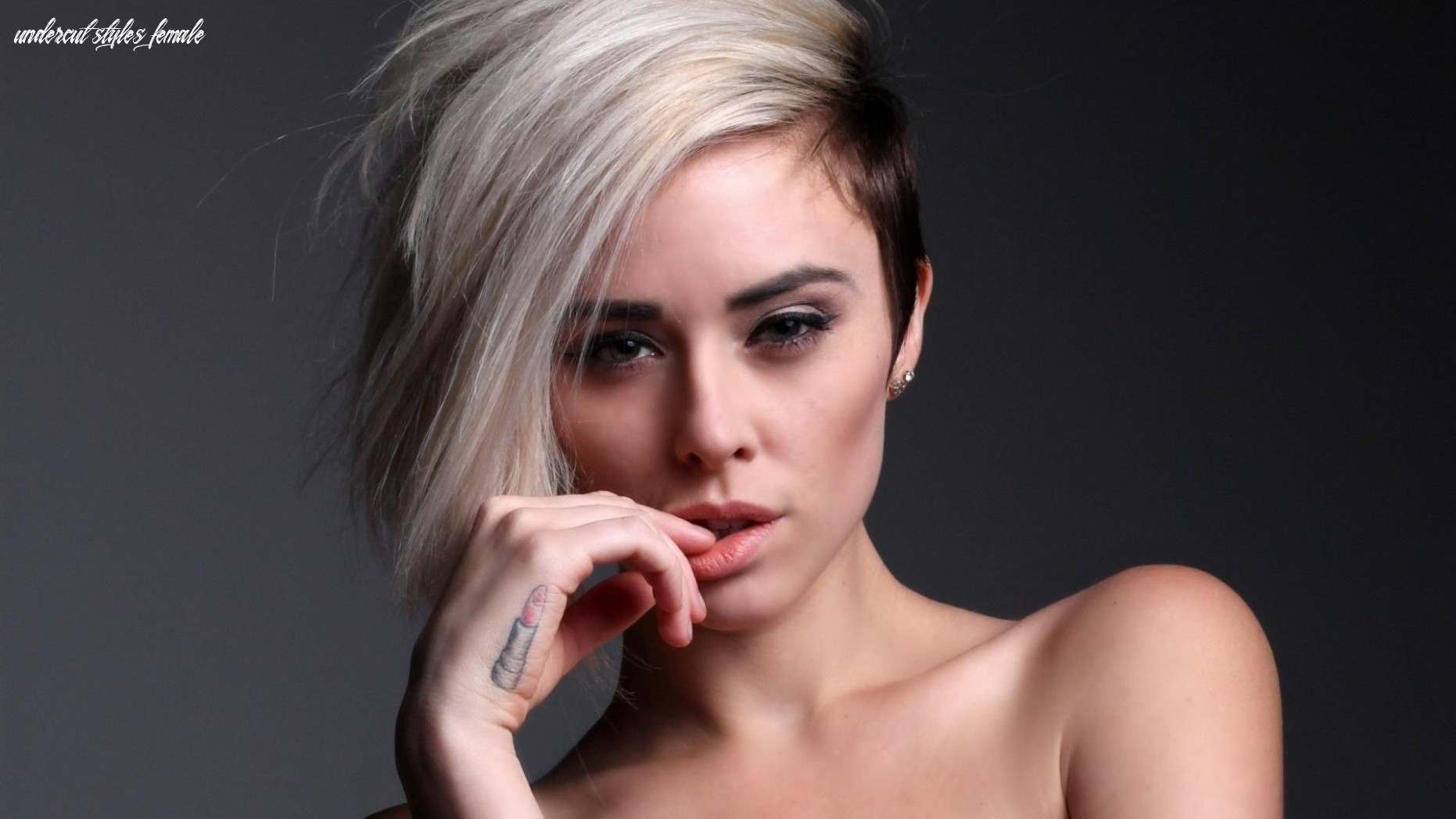 9 most coolest and boldest undercut hairstyles for women