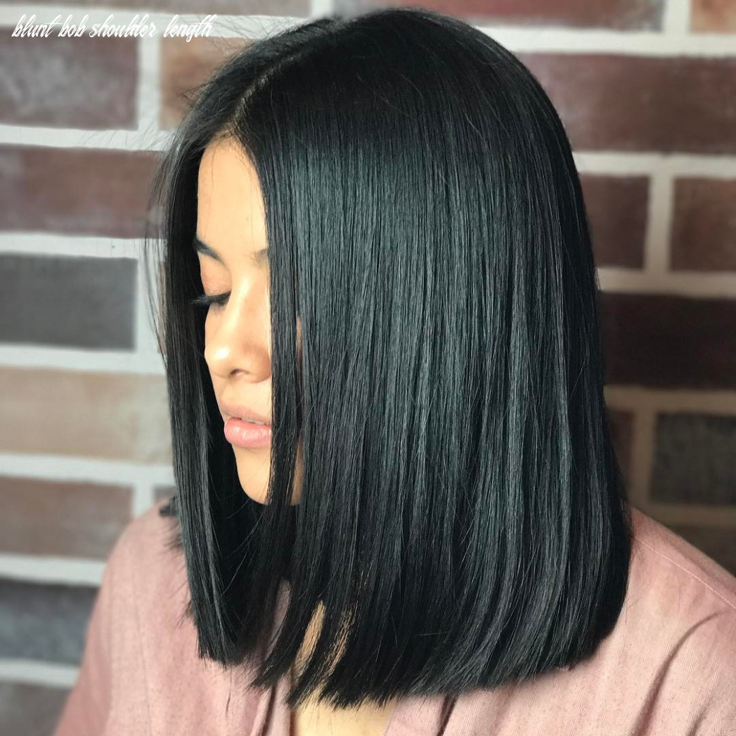 9 most coolest blunt cut hairstyles for women haircuts