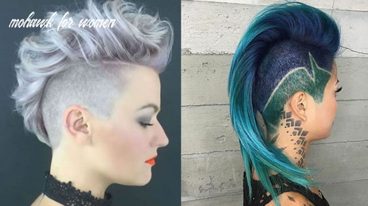 9 most delectable mohawk hairstyles in 99 mohawk for women