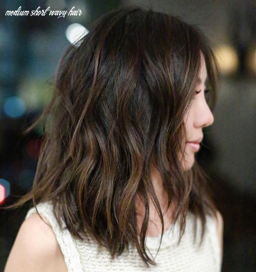 9 Most Magnetizing Hairstyles for Thick Wavy Hair | Medium hair ...