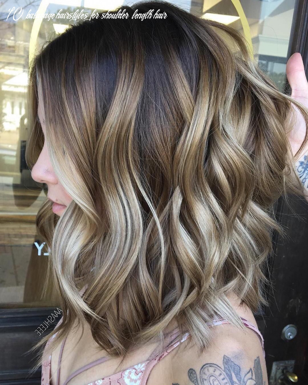 9 ombre balayage hairstyles for medium length hair (popular
