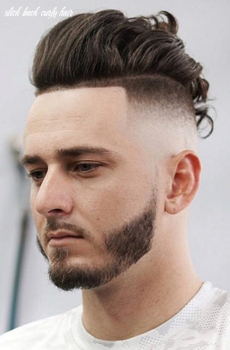 9 outstanding slick back hair ideas for men | all ages | slick back curly hair
