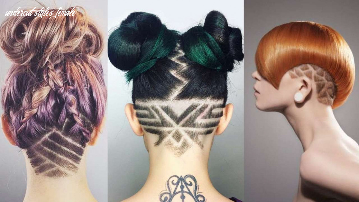 9 outstanding undercut hairstyle designs for women 9hairstyle