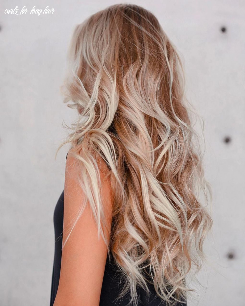 9 perfect ways to get beach waves in your hair   long hair waves