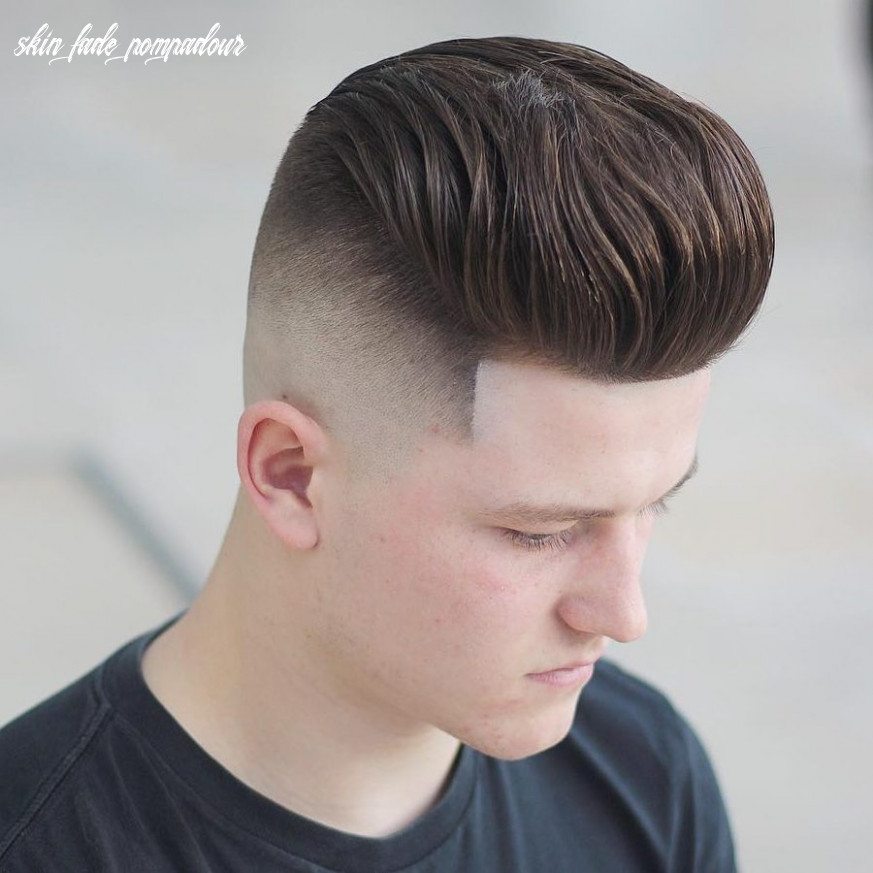 9+ Pompadour Fade Haircuts That Look Amazing