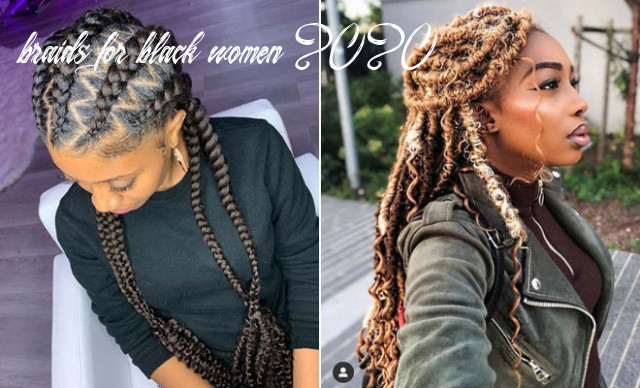 9 popular hairstyles for black women to try in 9 | stayglam braids for black women 2020