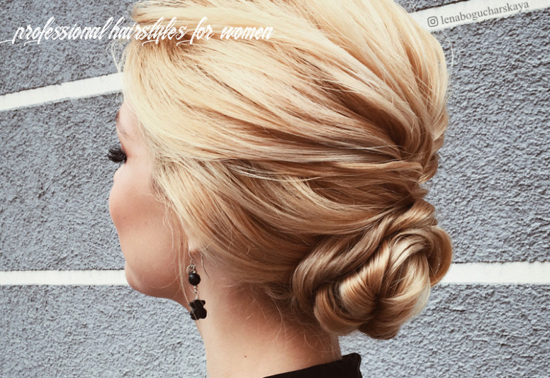9 Professional Women's Hairstyles for the Office & Job Interviews