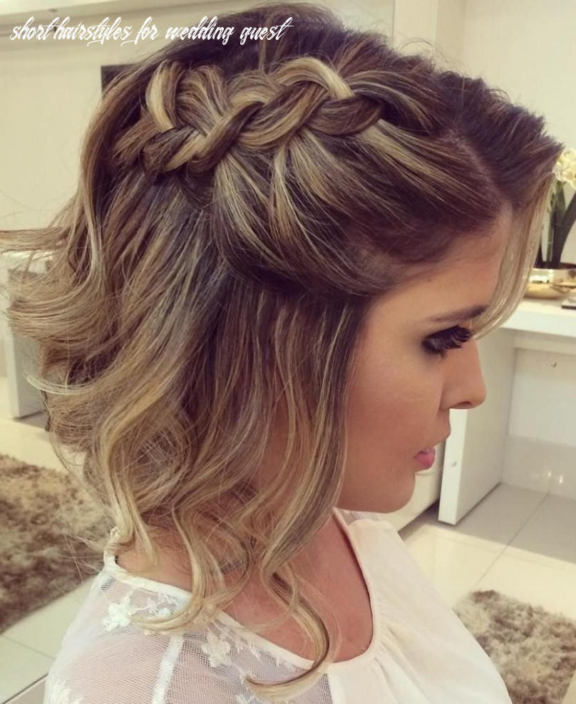 9 prom hairstyles for short hair to astonish everyone | short