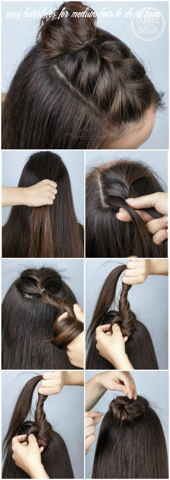 9 quick and easy back to school hairstyle tutorials easy hairstyles for medium hair to do at home