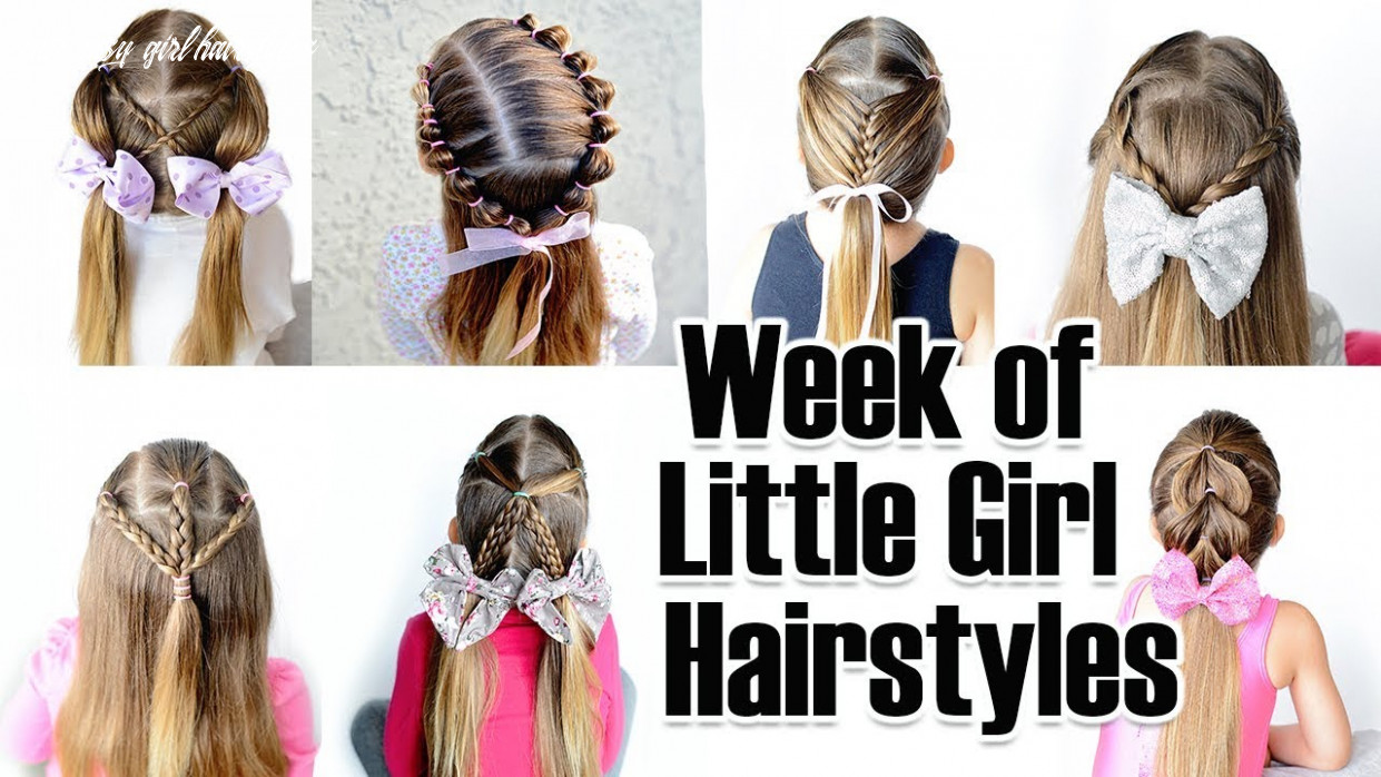 9 quick and easy little girl hairstyles for the week cute easy girl hairstyles