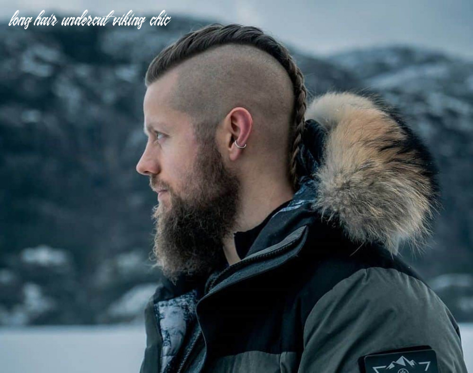 9 retro chic viking hairstyles for men – hairstyle camp long hair undercut viking chic