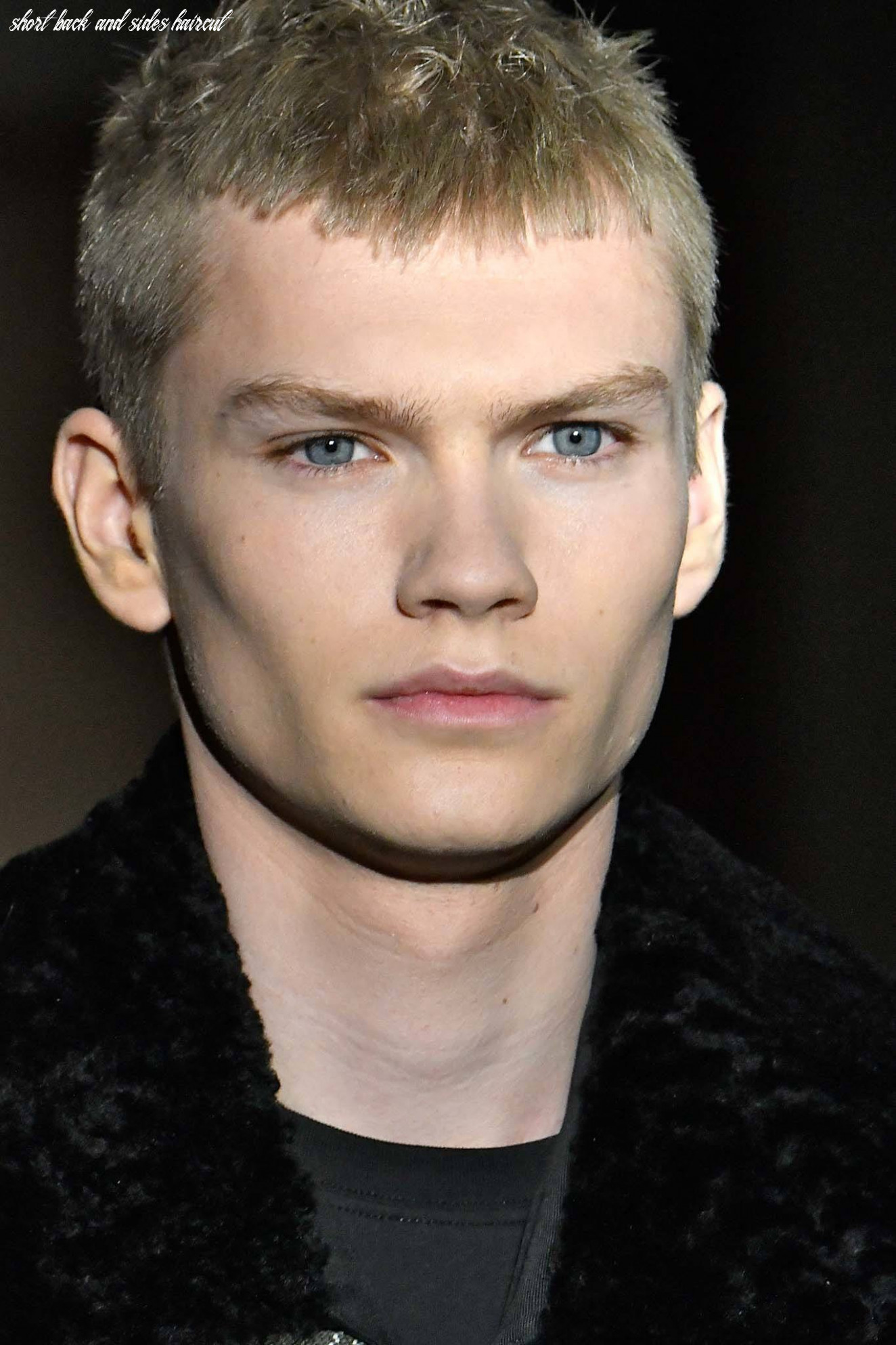 9 short back and sides haircut variations to steal from the runway short back and sides haircut