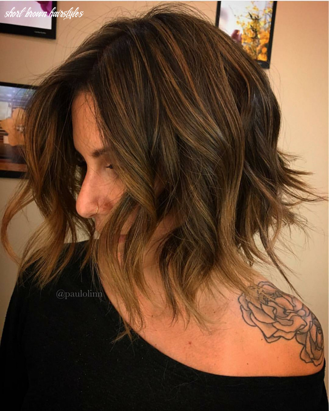 9 short brown hairstyles with fizz, short short brown hairstyles