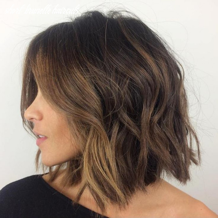 9 short brunette hairstyles for an awesome look haircuts