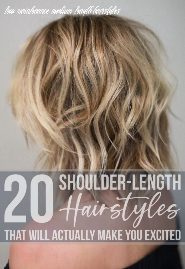 9 shoulder length hairstyles that will actually make you excited low maintenance medium length hairstyles