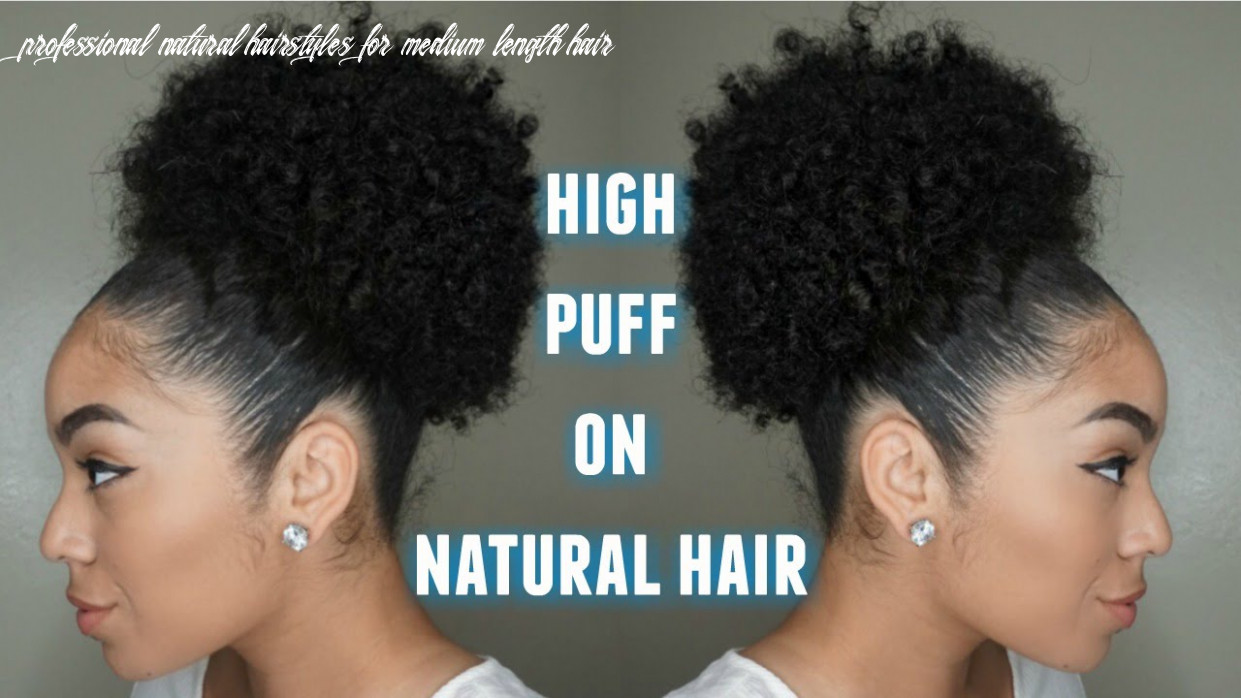 9 simple natural hairstyles for beginners! – naturall club professional natural hairstyles for medium length hair