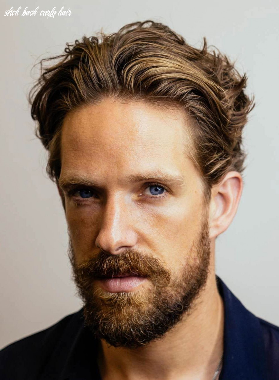 9 slicked back hairstyles: a classy style made simple guide slick back curly hair