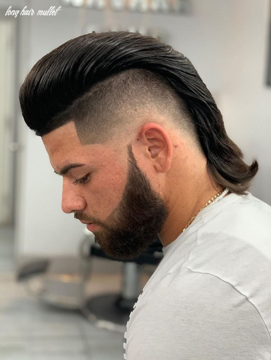 9 stylish modern mullet hairstyles for men long hair mullet