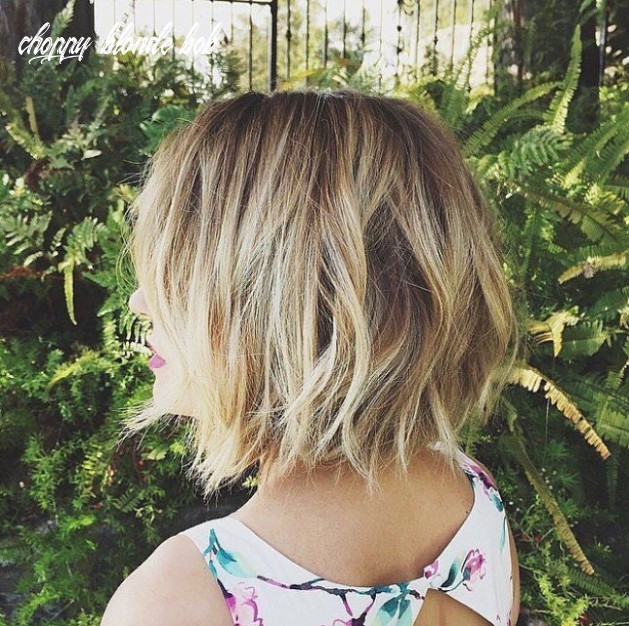 9 Textured Choppy Bob Hairstyles: Short, Shoulder Length Hair ...