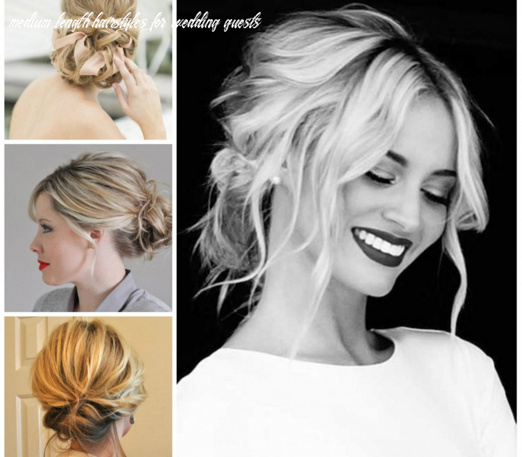 9 timeless wedding guest hairstyles for mid length hair medium length hairstyles for wedding guests