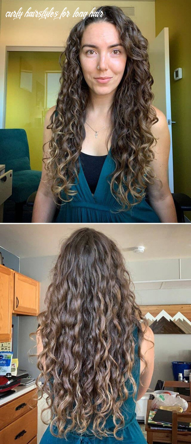 9 Curly Hairstyles For Long Hair - Undercut Hairstyle