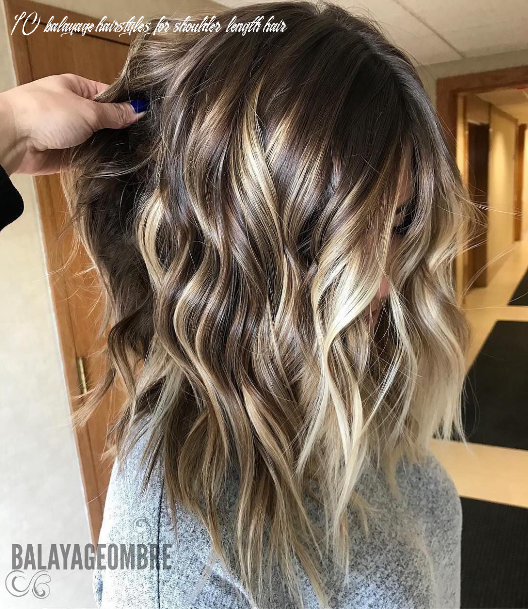 9 trendy brown balayage hairstyles for medium long hair (con