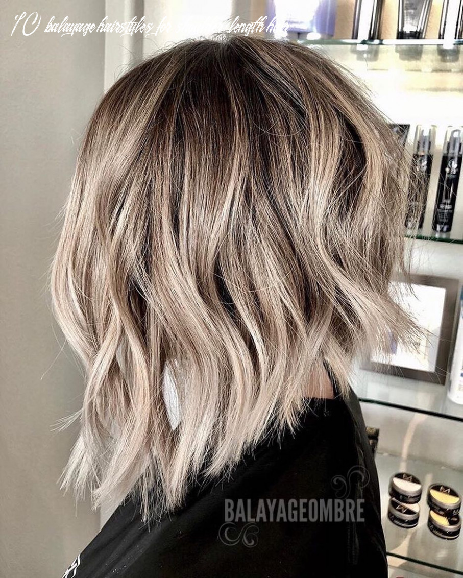 9 trendy ombre and balayage hairstyles for shoulder length hair 9 10 balayage hairstyles for shoulder length hair
