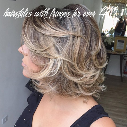 9 unbeatable haircuts for women over 9 to take on board in 9 hairstyles with fringes for over 40